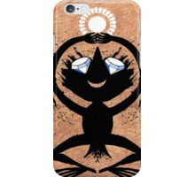Diamond Eye Sun Dance Rorscharch Creature iPhone Case/Skin