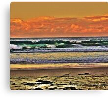Saltwater Sunset Canvas Print
