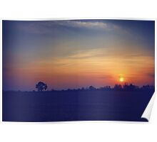 Peaceful Sunset Poster