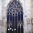 Ornate Window of Duomo di Milano by sstarlightss