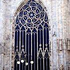 Ornate Window of Duomo di Milano by sstarlightss