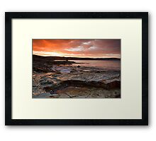 Bellerive Bluff Sunrise Framed Print