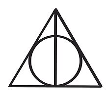 Harry Potter Deathly Hallows symbol by laurenpears
