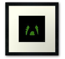 Shadow - Smash Framed Print