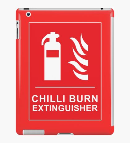 Chilli Burn Fire Extinguisher Funny Spicy Curry iPad Case/Skin