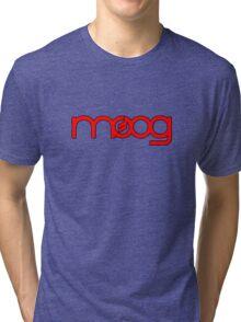 Moog Synth Red Tri-blend T-Shirt