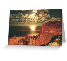 OCEAN ATMOSPHERE Greeting Card