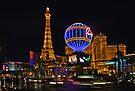 Eiffel Tower in LV by Jan Fijolek