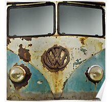 VW Rusty Poster