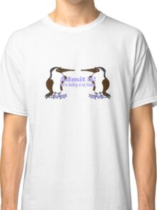 Blue-footed Boobies Classic T-Shirt