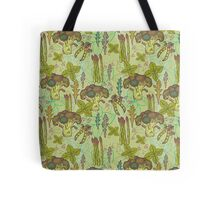 Green vegetables pattern. Tote Bag