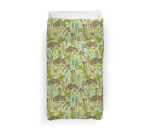 Green vegetables pattern. Duvet Cover