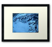 The Avalanche Framed Print