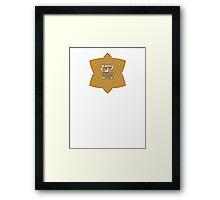 Paradiso Sheriff Dept.  Framed Print