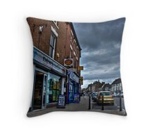 Ashby de La Zouch high street Throw Pillow