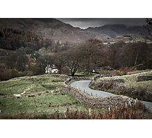 Rural Scene, Lake District Photographic Print