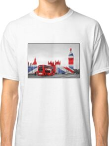 Big Ben and Union Jack Classic T-Shirt