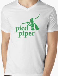 Pied Piper (Version 1) Mens V-Neck T-Shirt