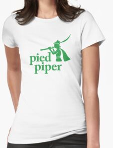 Pied Piper (Version 1) Womens Fitted T-Shirt