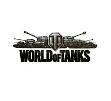 World of Tanks Photographic Print