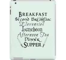 Second Breakfast Lord of the Rings iPad Case/Skin