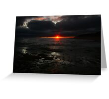 Point Lonsdale Sunset Greeting Card