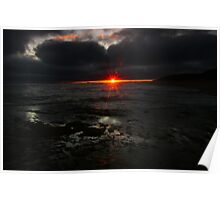 Point Lonsdale Sunset Poster
