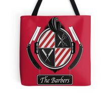 The barbers Tote Bag