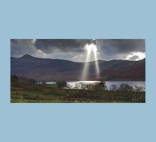 God Rays Over Crummock Water, Lake District Kids Clothes