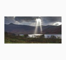 God Rays Over Crummock Water, Lake District One Piece - Short Sleeve