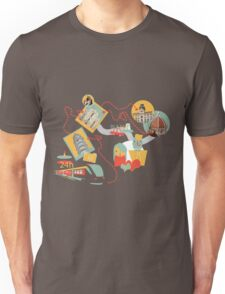 Travel with LOVE (italy) Unisex T-Shirt
