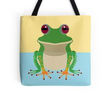 FROG IN WATER Tote Bag