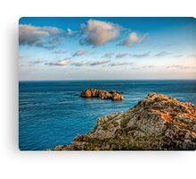 More rocks off Alderney! Canvas Print