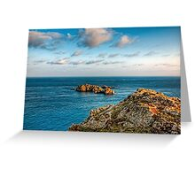 More rocks off Alderney! Greeting Card