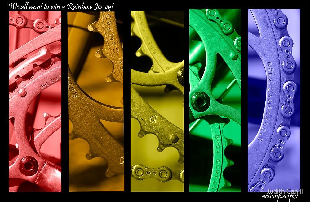 Rainbow Jersey by Judith Cahill
