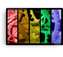 Rainbow Jersey Canvas Print