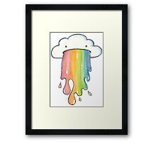 Cloud Vomit Framed Print