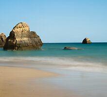 Praia da Rocha, Algarve, Portugal by Rick  Senley