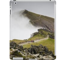 Snowdon Walkers and Landscape iPad Case/Skin