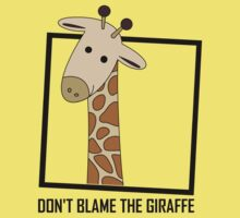 DON'T BLAME THE GIRAFFE Kids Clothes