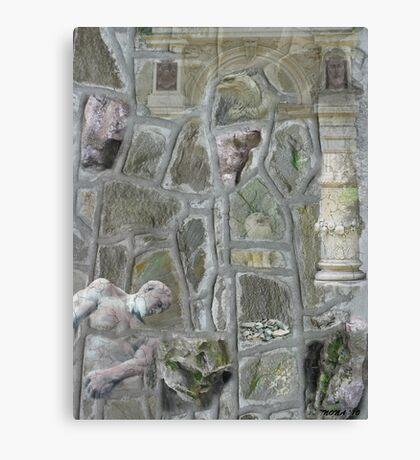 PETRIFIED HISTORY  Canvas Print