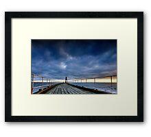 Whitby 6AM Framed Print