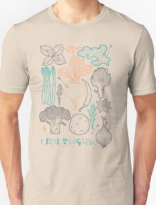 I love vegetables! T-Shirt