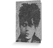 Ian McCulloch - Echo and the Bunnymen Greeting Card
