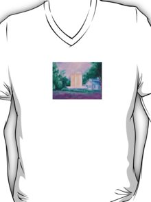 Lavender Farm painting T-Shirt