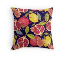 Mysterious tropical garden. Throw Pillow