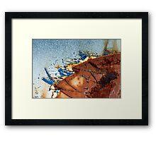 Battleship. Framed Print