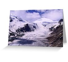 Austria, Glacier and Mountain Großglockner Greeting Card