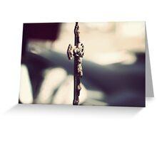 Italian Rosary Greeting Card