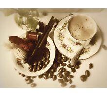 Coffee & chocolates for Mom Photographic Print